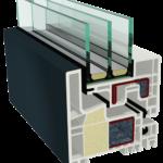 KUBUS - un sistem inovativ - cerceveaua nu este vizibila