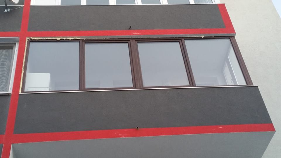 Inchidere balcon, Floresti (Cluj)
